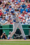 20 May 2018: Los Angeles Dodgers outfielder Matt Kemp in action against the Washington Nationals at Nationals Park in Washington, DC. The Dodgers defeated the Nationals 7-2, sweeping their 3-game series. Mandatory Credit: Ed Wolfstein Photo *** RAW (NEF) Image File Available ***