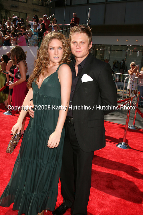 BethAnn Bonner and Billy Magnussen arriving at the Daytime Emmys 2008 at the Kodak Theater in Hollywood, CA on.June 20, 2008.©2008 Kathy Hutchins / Hutchins Photo .