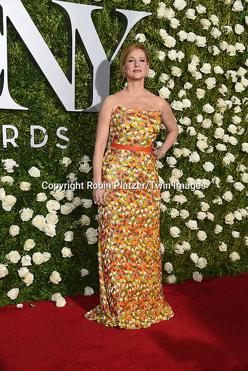 Laura Linney attends the 71st Annual  Tony Awards on June 11, 2017 at Radio City Music Hall in New York, New York, USA.<br /> <br /> photo by Robin Platzer/Twin Images<br />  <br /> phone number 212-935-0770