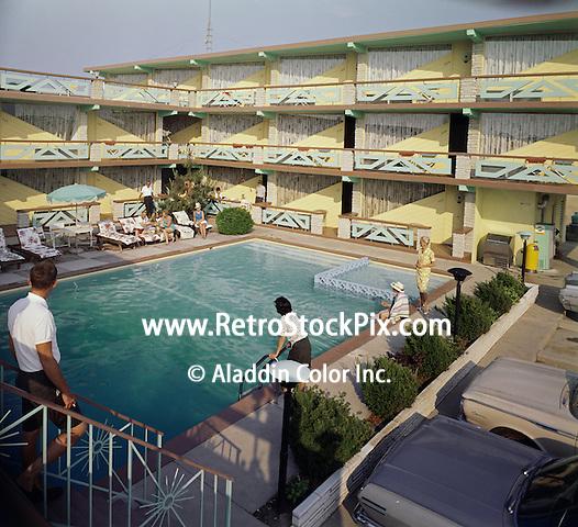 Satellite Motel, Wildwood, NJ - Pool Area