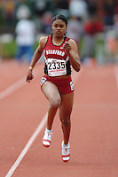 31 March 2006: Ramine Cromartie during Stanford's Track & Field Invitational at Cobb Track & Angell Field in Stanford, CA.