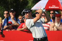 Paul Casey (ENG) on the third day of the DUBAI WORLD CHAMPIONSHIP presented by DP World, Jumeirah Golf Estates, Dubai, United Arab Emirates.Picture Denise Cleary www.golffile.ie