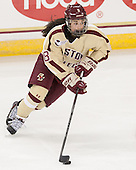 Dana Trivigno (BC - 8) - The Boston College Eagles defeated the visiting University of Maine Black Bears 5 to 1 on Sunday, October 6, 2013, in their Hockey East season opener at Kelley Rink in Conte Forum in Chestnut Hill, Massachusetts.