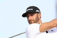 Dustin Johnson (USA) tees off the 15th tee during Thursday's Round 1 of the 145th Open Championship held at Royal Troon Golf Club, Troon, Ayreshire, Scotland. 14th July 2016.<br /> Picture: Eoin Clarke | Golffile<br /> <br /> <br /> All photos usage must carry mandatory copyright credit (&copy; Golffile | Eoin Clarke)