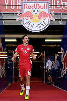 Harrison, NJ - Wednesday Aug. 03, 2016: Sacha Kljestan during a CONCACAF Champions League match between the New York Red Bulls and Antigua at Red Bull Arena.