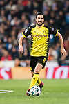 Borussia Dortmund Midfielder Nuri Sahin in action during the Europe Champions League 2017-18 match between Real Madrid and Borussia Dortmund at Santiago Bernabeu Stadium on 06 December 2017 in Madrid Spain. Photo by Diego Gonzalez / Power Sport Images