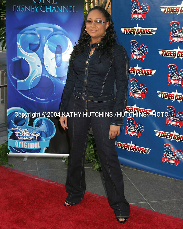 "©2004 KATHY HUTCHINS /HUTCHINS PHOTO.PREMIERE OF ""TIGER CRUISE"".HOLLYWOOD, CA.JULY 27, 2004..RAVEN SYMONE"
