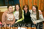 l-r  Maria Daly, Geraldine Knightley, Marian Knightley and Marian Knightley, Jr. at the Presentation Primary School, Tralee fundraiser table quiz in the Na Gaeil Clubhouse on Friday
