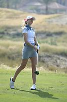 Jenny Haglund (SWE) during the first round of the Fatima Bint Mubarak Ladies Open played at Saadiyat Beach Golf Club, Abu Dhabi, UAE. 10/01/2019<br /> Picture: Golffile | Phil Inglis<br /> <br /> All photo usage must carry mandatory copyright credit (© Golffile | Phil Inglis)