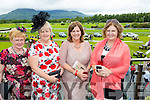 Celebrating her 50th birthday at the Killarney Races with her sister's was Ann Williams from Killorglin. Front l-r Joan Joy, Ann Williams, Mary Griffin and Margaret Griffin