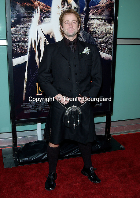 "Billy Boyd arriving at the premiere of ""The Lord Of The Rings: The Two Towers"" at the Cineramadome Theatre in Los Angeles. December 15, 2002."