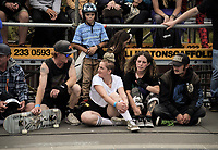 2019 Wellington Bowlzilla skateboarding tournament at Waitangi Park Skate Bowl in Wellington, New Zealand on Saturday, 9 March 2019. Photo: Dave Lintott / lintottphoto.co.nz