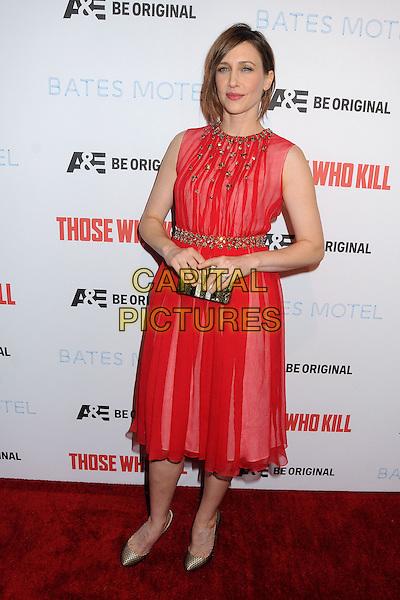 26 February 2014 - Hollywood, California - Vera Farmiga. &quot;Bates Motel&quot; Season 2 and &quot;Those Who Kill&quot; Premiere Party held at Warwick. <br /> CAP/ADM/BP<br /> &copy;Byron Purvis/AdMedia/Capital Pictures