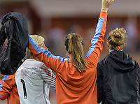 Houston Texas - The Houston Dash bench celebrates Carli Lloyd's goal in the second half on Saturday, April 16, 2016 at BBVA Compass Stadium in Houston Texas.  The Houston Dash defeated the Chicago Red Stars 3-1.