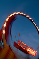 Ride at Ohio State Fair in Columbus, Ohio