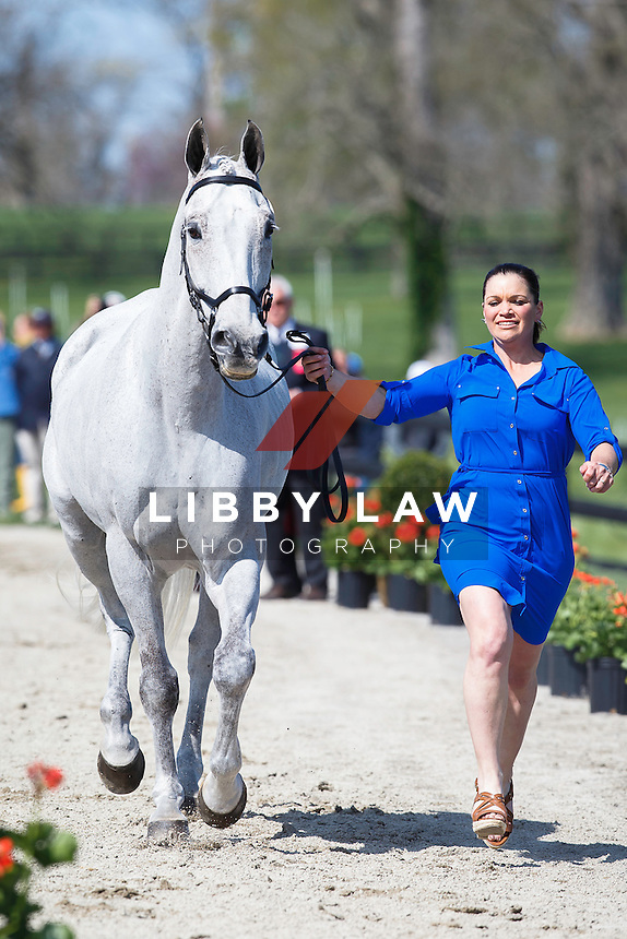 USA-Amanda Wilson (COOL DECISION) THE JOG: 2015 USA-Rolex Kentucky Three Day Event CCI4* (Wednesday 22 April) CREDIT: Libby Law COPYRIGHT: LIBBY LAW PHOTOGRAPHY
