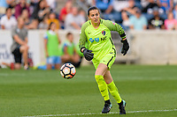 Bridgeview, IL - Sunday September 03, 2017: Katelyn Rowland during a regular season National Women's Soccer League (NWSL) match between the Chicago Red Stars and the North Carolina Courage at Toyota Park. The Red Stars won 2-1.