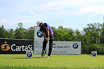 Marco Ruiz (PAR) in action on the 6th tee during Day 3 of the BMW Italian Open at Royal Park I Roveri, Turin, Italy, 11th June 2011 (Photo Eoin Clarke/Golffile 2011)