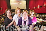Cecelia Ford, Rosemary Murphy, Eileen O'Connor and Bridie Canty, Ballyduff at the live broadcast via satellite of Les Miserables from the o2 in London at Omniplex Tralee.