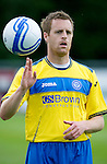 St Johnstone FC....Season 2011-12.Alan Maybury.Picture by Graeme Hart..Copyright Perthshire Picture Agency.Tel: 01738 623350  Mobile: 07990 594431