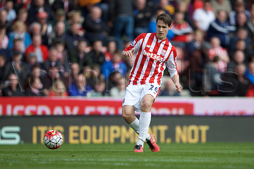 02.04.2016. Britannia Stadium, Stoke, England. Barclays Premier League. Stoke City versus Swansea City.  Stoke City defender Philipp Wollscheid.