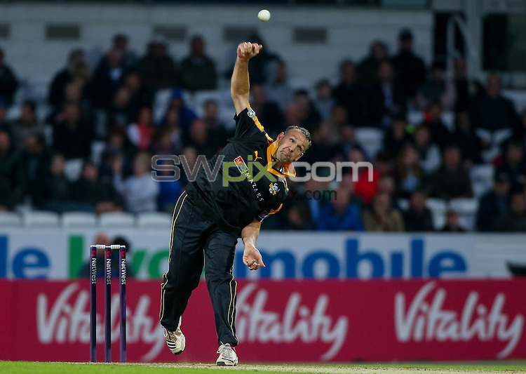 Picture by Alex Whitehead/SWpix.com - 19/06/2015 - Cricket - NatWest T20 Blast - Yorkshire Vikings v Nottinghamshire Outlaws - Headingley Cricket Ground, Leeds, England - Yorkshire's James Middlebrook.