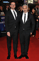 Ben Townley and Iain Canning at the &quot;Widows&quot; opening film gala, 62nd BFI London Film Festival 2018, Cineworld Leicester Square, Leicester Square, London, England, UK, on Wednesday 10 October 2018.<br /> CAP/CAN<br /> &copy;CAN/Capital Pictures