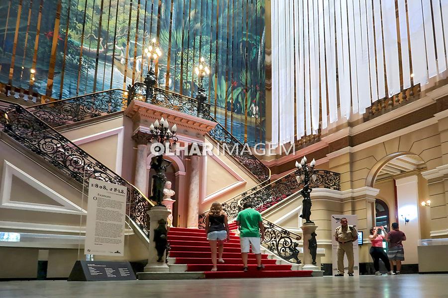 Edificio da Biblioteca Nacional, Rio de Janeiro. 2019. Foto Juca Martins