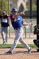 Aja Barto - Texas Rangers - 2009 spring training.Photo by:  Bill Mitchell/Four Seam Images