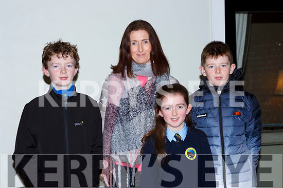 Ian, Emir, Jenna and Niall Coffey at the Muckross Concert in the Killarney Oaks Hotel on Thursday night