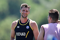 Luke Charteris of Bath Rugby. Bath Rugby pre-season training on July 2, 2018 at Farleigh House in Bath, England. Photo by: Patrick Khachfe / Onside Images