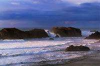 769550125 sea stacks along the pacific ocean at bandon beach oregon