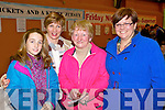 Rebecca Conway, Brid Conway Teresa Howard Emma Bonham (Tralee)   pictured at St Johns bazaar, held in the KDYS on Saturday evening.