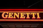 Jennifer Hoyt Wedding, Genetti Hotel neon sign, Williamsport, PA