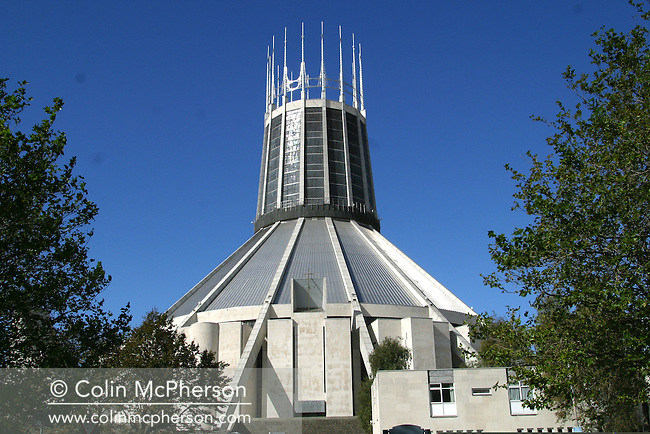 Liverpool Catholic Cathedral - the Metropolitan Cathedral of Christ the King.