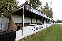 General view of the ground during Heybridge Swifts vs Carshalton Athletic, FA Trophy Football at The Aspen Waite Arena on 7th October 2017