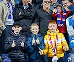 Young Rangers fans