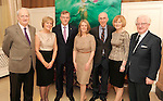 Eamonn McKeown,  Irish Tourism Industry Confederation CEO, Carol McKeown, Tim Fenn, IHF CEO, Niamh O'Shea, Killarney Park Hotel, Padraig and Janet Treacy, Killarney Park Hotel and Jim Flannery, Tourism Ireland, at the Irish Hotels Federation Conference 'President's Dine Around' event in The  Killarney Park Hotel  on Monday  night. Picture: MacMonagle, Killarney