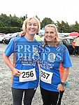 Joan and Helen McQuillan who took part in the Seamie Weldon memorial run at St. Mary's GAA club Ardee. Photo:Colin Bell/pressphotos.ie