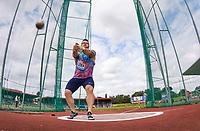 Pawel FAJDEK of Poland during the Hammer Throw during the Muller Grand Prix Birmingham Athletics at Alexandra Stadium, Birmingham, England on 20 August 2017. Photo by Andy Rowland.