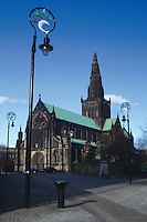 Glasgow Cathedral and Cathedral Square, Glasgow<br /> <br /> Copyright www.scottishhorizons.co.uk/Keith Fergus 2011 All Rights Reserved
