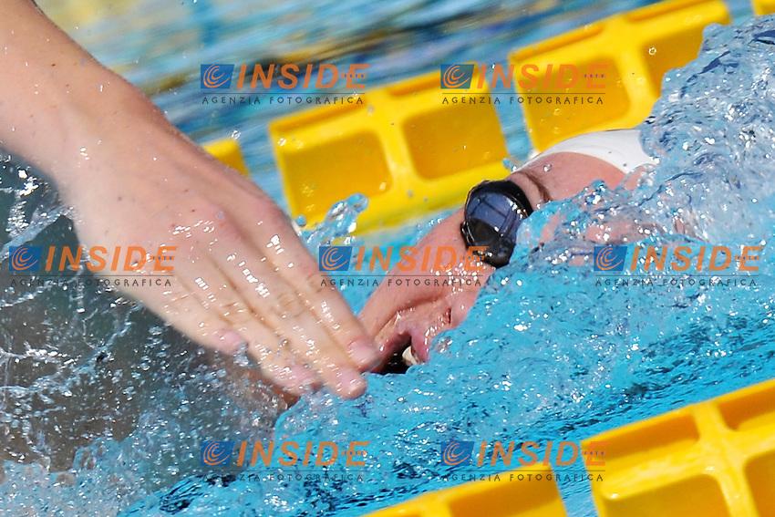 Camille Muffat France<br /> 100m Freestyle Women<br /> Roma 15/6/2013 Piscina del Foro Italico <br /> Nuoto 50mo trofeo Settecolli<br /> Settecolli 50th International swimming trophy <br /> Foto Antonietta Baldassarre Insidefoto