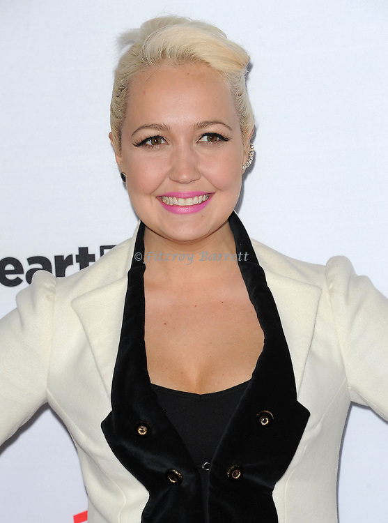 Meghan Linsey arriving NBC's The Voice Season 8 Red Carpet Event held at the Pacific Design Center Los Angeles CA. April 23, 2015