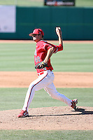 Charlie Robertson, Fresno State Bulldogs.Photo by:  Bill Mitchell/Four Seam Images.