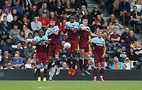 The West Ham defensive wall<br /> <br /> Photographer Rob Newell/CameraSport<br /> <br /> Football Pre-Season Friendly - Fulham v West Ham United - Saturday July 27th 2019 - Craven Cottage - London<br /> <br /> World Copyright © 2019 CameraSport. All rights reserved. 43 Linden Ave. Countesthorpe. Leicester. England. LE8 5PG - Tel: +44 (0) 116 277 4147 - admin@camerasport.com - www.camerasport.com