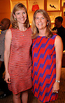 Kristen McDaniel and Sami Morrison at an evening honoring The Houston Symphony Young Associates Council at the Louis Vuitton store in the Galleria Thursday August 15, 2013.(Dave Rossman photo)