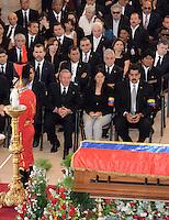 Hugo Chavez, official funerals ceremony - Venezuela