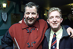 Paul Hughes and Liam Reay at the Drogheda United Forum..Picture Paul Mohan Newsfile