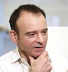 """Matthew Warchus attends the """"Groundhog Day'' press day at The New 42nd Street Studios on February 2, 2017 in New York City."""