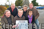 FASHION PASSION: Organisers of a Fashion Show in aid of the restoration of St. Carthage's Church in Brosna. The event takes place at The Devon Inn Hotel on November 14th..Front L/r. Fr. Tadhg Fitzgerald, Gerard Curtin, Maria Sheehan..Back L/r. Patrick Brosnan, James McAuliffe and William Curtin.   Copyright Kerry's Eye 2008
